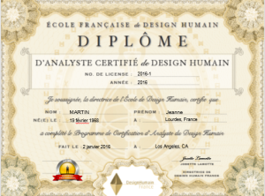 Certification Analyste